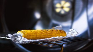 Cook corn on the grill in foil