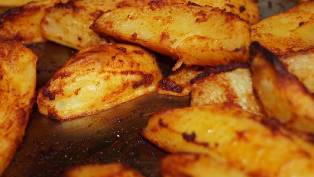 Tender baked potatoes