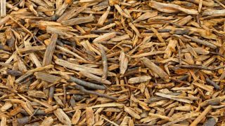 Two to three handfuls of wood chips